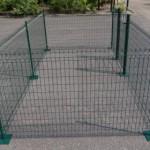 Dierenren van 8 vierkante meter