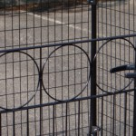 Kippenren Rectangle Zwart | Poort