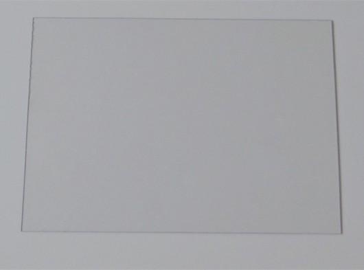 Isolatie plaatje plexiglas 23 x 41 cm