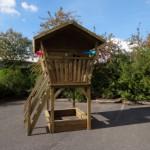Houten speelhuisje Birdy Premium Prestige Garden