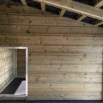 Zijwand nachthok-ren met opening van 68x40 cm