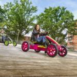 Stoere paarse BERG skelter voor meisjes