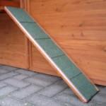 Loopplank voor konijnenhok 80x18cm