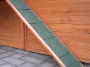 Loopplank voor kippenhok 75x16cm