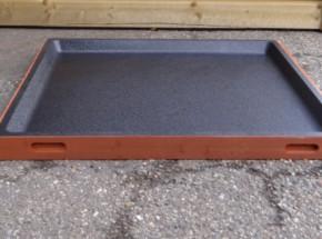 Schuiflade voor dierenhok bruin 91x82cm
