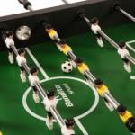 Voetbaltafel Bandito Profi Soccer Deluxe - speelveld met spelers