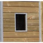 Raampje voor kennelpaneel met hout