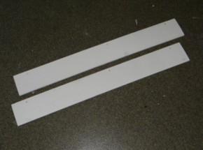 Holiday Medium White ren afsluit plankjes Voor het koppelen van twee rennen