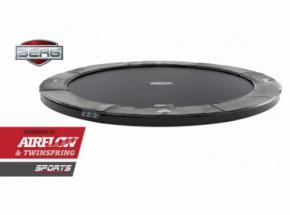 Trampoline BERG Flatground Elite Grijs 380cm