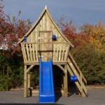 Speelhuis van maar liefst 4 meter hoog