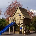 Houten speelhuis Dreamhouse Premium Prestige Garden