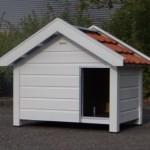 Geïmpregneerd hondenhok Reno met dakpannen
