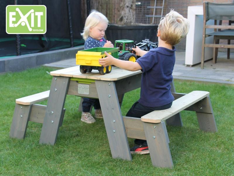 Kinder Picknick Tafel : Naturelkleurige pinolino kinderträume pinolino kinder