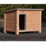 Douglas houten hondenhok Ferro, een prachtig buitenhok voor uw hond
