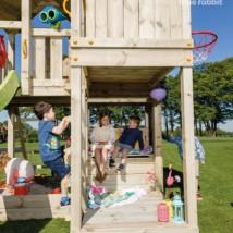 Luxe houten speeltoren   Blue Rabbit   Palazzo