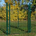 Sier-poort kippenren Groen 6x2m
