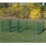 Kippenren Rectangle Groen 400x200x123 cm