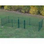 Kippenren Rectangle Groen 600x200x123 cm