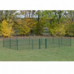 Kippenren Rectangle Groen 800x400x123 cm
