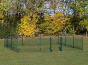 Afrastering Square Groen 600x600x123 cm