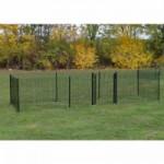 Kippenren Rectangle Zwart 600x200x123 cm