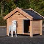 Hondenhok Reno is prima geschikt voor een Labrador of vergelijkbare hond