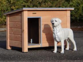 Houten hondenhok Ferro Douglas, geschikt voor buiten