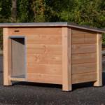 Hondenhok Ferro | Geïsoleerd | Douglas hout