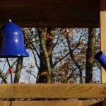 Veranda houten speelhuis