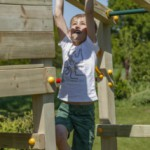 Speeltoren | Klimrek Crossfit | Monkey Bar