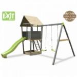 Exit Aksent Speeltoren met aanbouwschommel 2 zitjes
