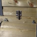 Kippenhok Professional Dubbel | slotje afsluitbaar nachthok