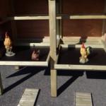 Kippenhok Professional Dubbel | handige uitschuifbare lades