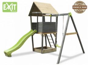 Exit Aksent Speeltoren met aanbouwschommel 1 zitje
