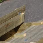 Zandbak Cubic met opklapbare bankjes Geïmpregneerd Vurenhout 120x150cm