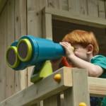 Verrekijker voor speeltoren - speeltoestel