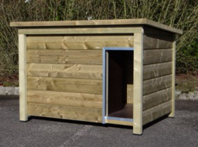 Hondenhok Select 3 - geïmpregneerd houten hondenhok, afm. 144x104x99cm