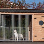 Hondenkennel Max 3 is 341x182x240cm