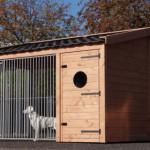 Design, kwaliteit en gebruiksgemak zijn de belangrijkste factoren voor de vormgeving van deze kennel
