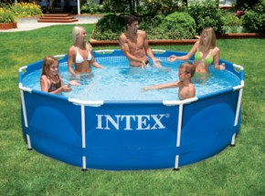 Zwembad Intex Metal Frame Ø305x76 cm