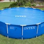 Solarzeil Zwembad Intex Metal Frame