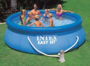 Zwembad Intex Easy Set met filterpomp 396x84 cm