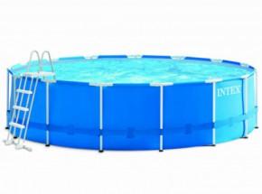 Zwembad Intex Metal Frame met filterpomp en toebehoren Ø457x122 cm