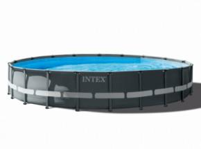 Zwembad Intex Ultra XTR Frame met zandfilterpomp en toebehoren Ø610x122cm