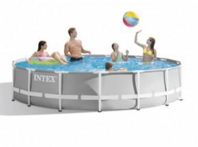 Zwembad Intex Prism Frame met filterpomp en toebehoren Ø457x107 cm