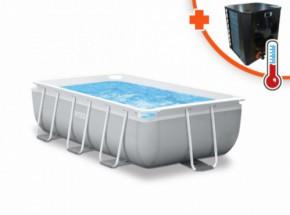 Zwembad Intex Prism Frame Met EasyHeat 2 warmtepomp 300x175x80cm