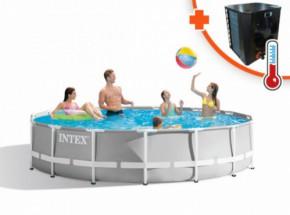 Zwembad Intex Prism Frame Met EasyHeat 4 warmtepomp 457x107cm
