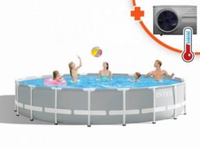 Zwembad Intex Prism Frame Met Inverter Pro 6 warmtepomp 549x122cm