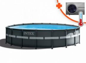 Zwembad Intex Ultra Frame Met Interver Pro 6 warmtepomp 549x132cm