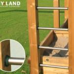 Hy-Land speeltoestel P5S met aanbouwschommel